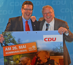 Claus Peter Dieck (links)  und Uwe Voss