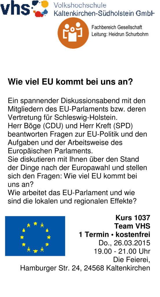 Flyer-EU-Diskussion